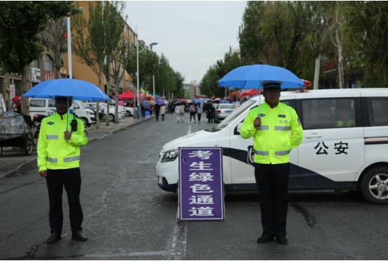 珲春市公安局全力为高考保驾护航
